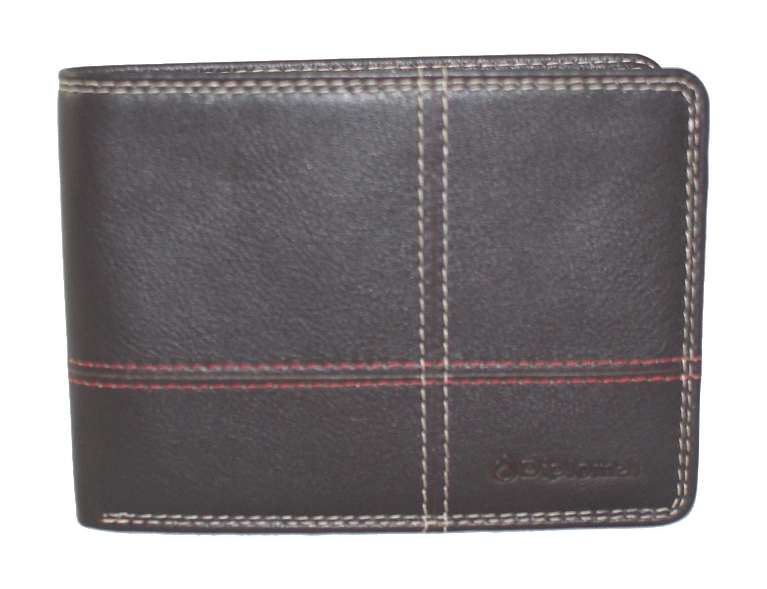 14c8c1efde Δερμάτινο πορτοφόλι Diplomat MN415 σε καφέ χρώμα έως 6 άτοκες δόσεις