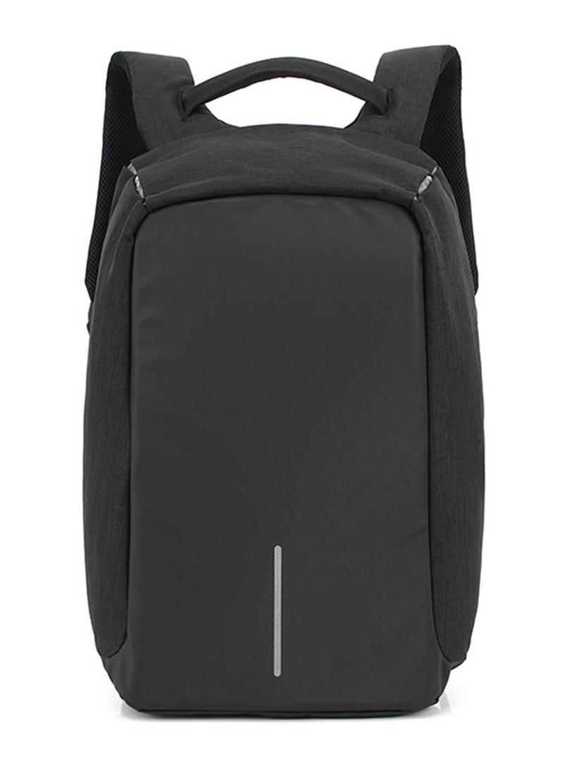 be4f75ceb9 Antitheft Σακίδιο πλάτης Ozuko 8798 σε μαύρο χρώμα για laptop 15.6   έως 6  άτοκες